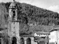 """Ezcoriaza. Torre de la iglesia Parroquial"""