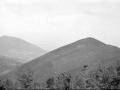 Vista de los montes Asensiomendi y Murugain