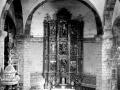Altar mayor de la iglesia de San Miguel de Ezkio