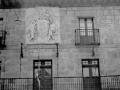 """""""Legazpia. Escudo de armas de la fachada del Ayuntamiento de Legazpia"""""""