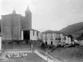 """""""Lizarza. Iglesia Parroquial y vista parcial"""""""