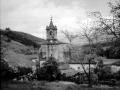 """""""Mutiloa. Paisaje de Mutiloa con la Iglesia Parroquial"""""""