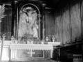 """Motrico. Altar de la ermita de Sta Cruz"""
