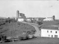 Vista de Olaberria, con la iglesia