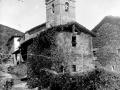 Torre de la iglesia de Santa Cruz de Orexa