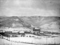 """Ormaiztegui. Vista general de Ormaiztegui con la nevada"""