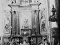 """Placencia. Altar mayor de la Iglesia Parroquial"""