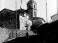 Torre de la iglesia parroquial de San Miguel de Urnieta