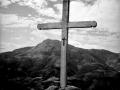 Cruz de la cumbre de Ertxiña