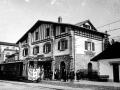 Estación del ferrocarril del Urola de Zumarraga en su inauguración