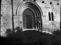 Portada del Santuario de Nuestre Señora de la Antigua