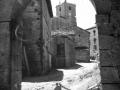 """Aya (Guipuzcua). Vista parcial con la Torre Parroquial al fondo"""