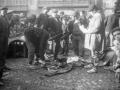 Feria en la plaza de los Fueros de Elgoibar