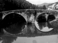 """Alegria de Oria. Zubi Zarra sobre el rio Oria"""
