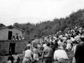 Misa de campaña en el refugio de Arno