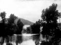 Paisaje sobre el río Oria
