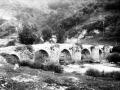 """Anoeta. Puente de Anoeta sobre el rio Oria"""