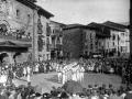 Ezpatadantzaris de Antzuola en las fiestas patronales