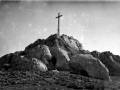 Cruz de la cumbre de Kurtzebarri