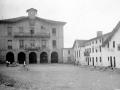 """""""Astigarraga (S. Sebastian). La Plaza y el Ayuntamiento"""""""