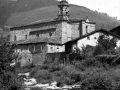 """Ataun. Iglesia de S. Martin. Paisaje de Ataun (S. Martin)"""