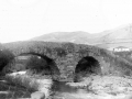 """""""Ataun. Puente viejo sobre el rio Agaunza"""""""