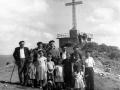 Familia en Irimo el día de la inauguración