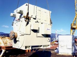 Motor de Indar en un buque