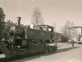Varias locomotoras en las calles de la localidad