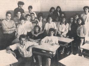 """Alumnos Instituto Peñaflorida ganadores concurso """"Europa y los jóvenes"""" (Diario EGIN)"""