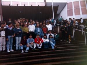 Visita Parlamento Europeo Estrasburgo 1990