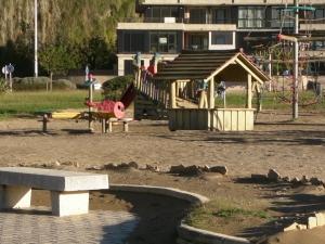 parque infantil de Orio (playa de Antilla)