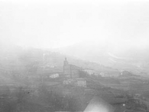 Albiztur, situado en un valle rodeado de montañas