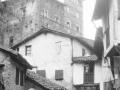 """""""Mutriku. Vista de la casa-torre de Berriatua"""""""