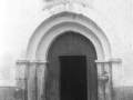 """Santa Marina de Albiztur. Puerta románica"""