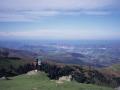 Donostialdearen ikuspegi panoramikoa Bianditz mendi gailurretik