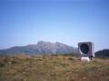 Agiña mendian dagoen Jorge Oteizak Aita Donostiari eskeinitako monumentua