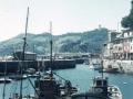 Itsasontziak arrantza-portuan