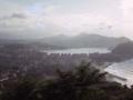 Ulia menditik hartutako Donostiako hiriaren ikuspegi panoramikoa