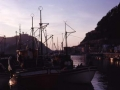 Embarcaciones en el puerto de Donostia-San Sebastián