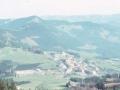 Elgeta udalerriaren ikuspegi panoramikoa