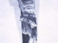 Aieteko Gurutzeaga parroki elizako Kristo gurutziltzatuaren erreprodukzioa