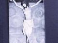 Parroki-elizan dagoen Kristo Gurutziltzatuaren erreprodukzioa