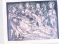 Eibarko San Andres parrokiko aldare nagusiko Kristoren etzanaren altuerliebearen erreprodukzioa