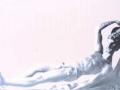 Eibarko San Andres parrokiko erretaulako lehen gorputzeko Adan Atlantearen irudiaren erreprodukzioa