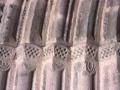 Abaltzisketako San Joan Bataiatzailearen parroki elizako ataldearen xehetasuna