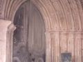 San Bartolome parroki-elizako portada erromanikoa