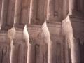 San Bartolome parroki-elizako portada erromanikoaren xehetasuna