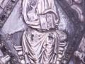 Detalle del Evangelio de Juras de la Colegiata de Orreaga/Roncesvalles