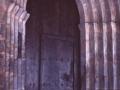 Portada gótica de la iglesia parroquial de Santa Catalina de Elduain